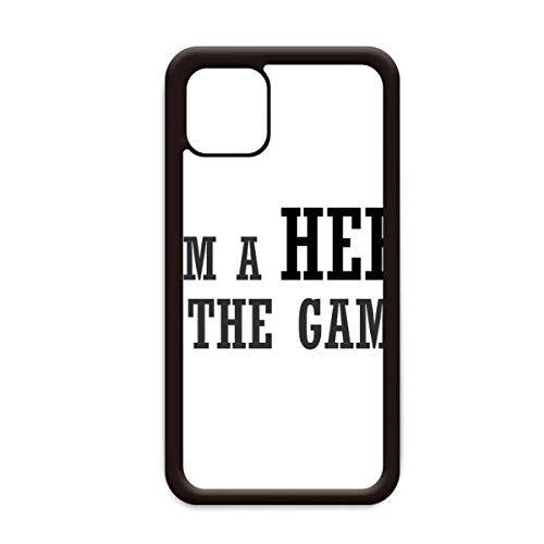 Capa I Am A Hero in The Games para iPhone 12 Pro Max para Apple Mini Mobile Case Shell
