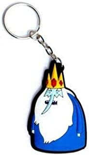 Hot Properties Adventure Time Ice King Rubber Keychain