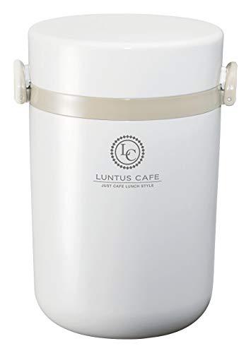 アスベル 保温ランチジャー ホワイト 700ml ランタスBE ステンレス保温ランチボックス HLB-B700