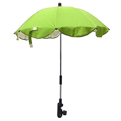 Cochecito de bebé infantil de color sólido, cochecito, paraguas, parasol, toldo, cubierta, parasol