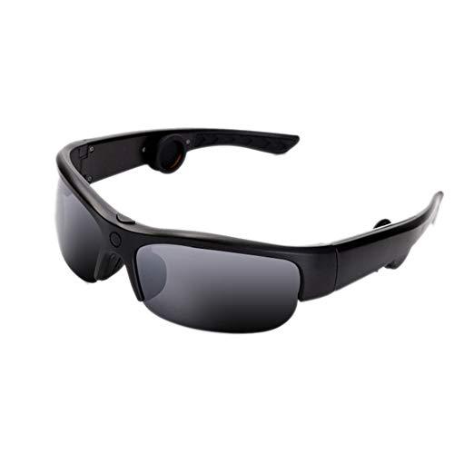 WASDQE Occhiali Bluetooth a conduzione ossea, Occhiali da Sole Intelligenti a conduzione ossea per Lo Sport-Inkfilm