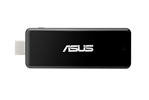 Asus QM1 PendDrive PC, Processore Intel Quad Core 1.44 Ghz, RAM 2 GB, SSD 32 GB, Nero/Antracite