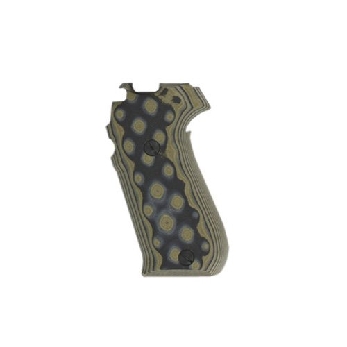 Hogue 20168 Sig P220 American Grips, G-10 G-Mascus Green