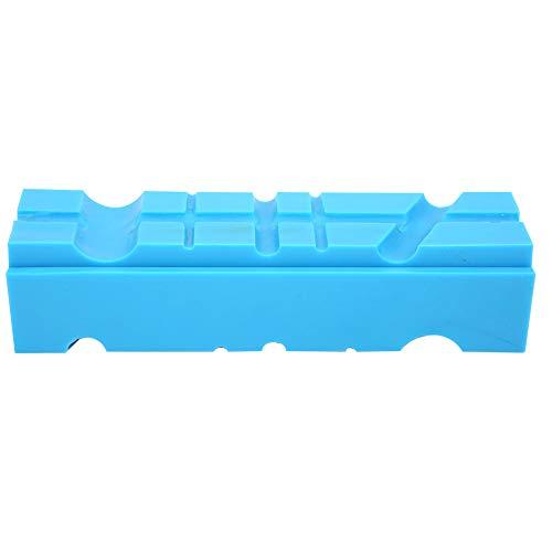 SANON 2 piezas multi-magnético suave TPU banca tornillo tornillo mandíbula almohadilla accesorios para proyectos de bricolaje, manualidades, joyería, armero, club de golf