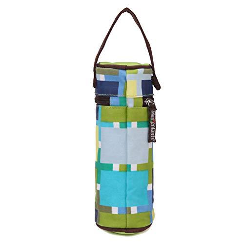 Isoliertasche Für Babyflaschen,Wärmebehälter Babynahrung,21x7.5cm tragbare neugeborene Babyflasche Isolationswärmer-Tasche mit Griff für Hauptreise draußen
