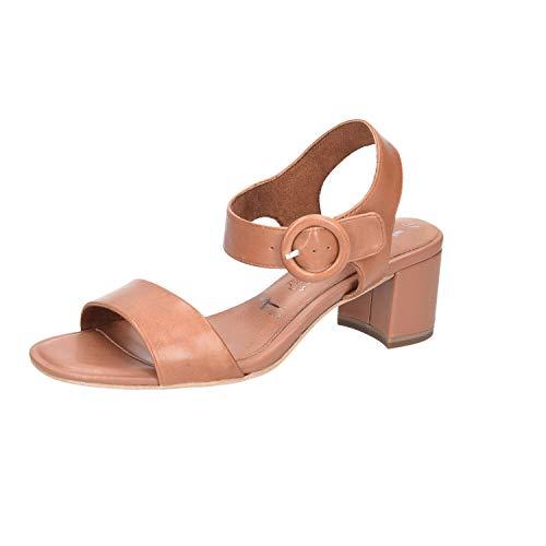 Tamaris Damen 1-1-28324-24 348 Sandale mit Absatz, Braun, 42 EU