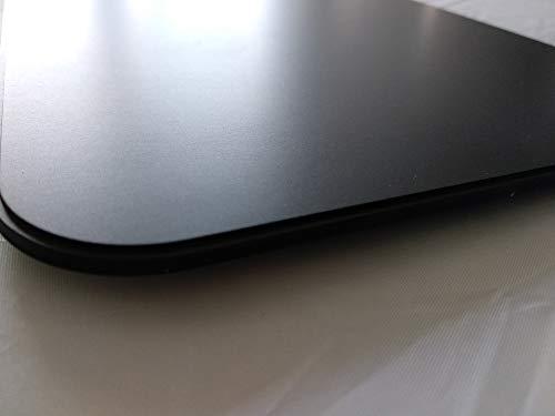 BSB Gleitbrett XL 360x440mm Alu eloxiert schwarz geeignet für größere Küchenmaschinen