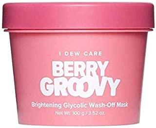 I DEW CARE Berry Groovy Brightening Face Mask - Korean Skin Care Face Mask With Hyaluronic Acid, Face Moisturizer Face Mask To Plump, Nourish And Moisturize Skin (3.52 oz)