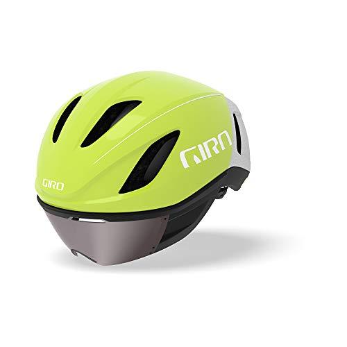 Giro Vanquish MIPS Adult Road Cycling Helmet - Large (59-63 cm), Matte Citron/White (2020)