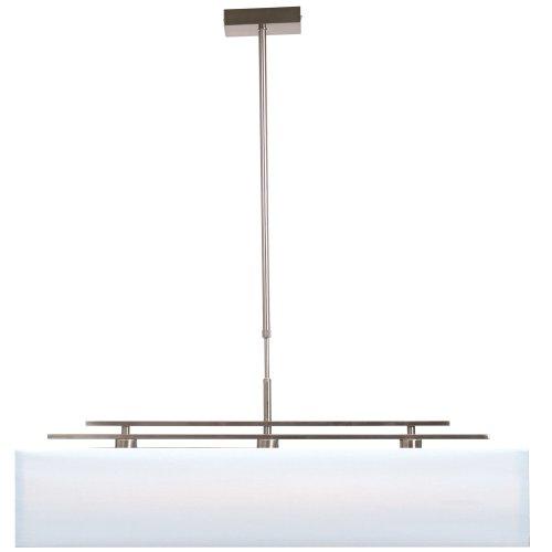 Vandeheg Pendelleuchte Emotion Hampton, 95 x 155 cm, satin/weiß 109201