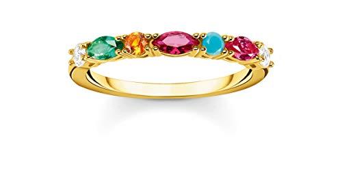 Thomas Sabo anillo Mujer Plata esterlina circonita - TR2341-488-7-58
