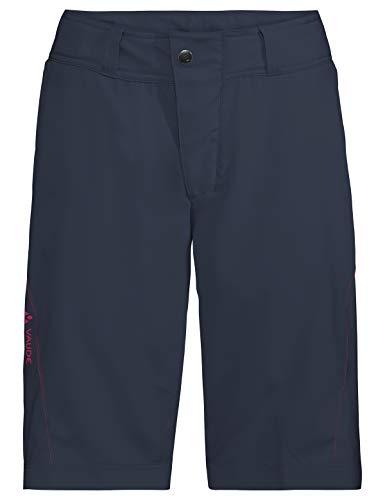 VAUDE Damen Hose Ledro Shorts für den Radsport, eclipse, 40, 414347500400