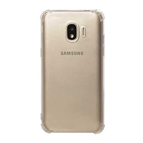 LICHONGGUI Teléfono Protector Funda Protectora de TPU a Prueba de Golpes for Galaxy J2 Pro (2018) (Transparente)