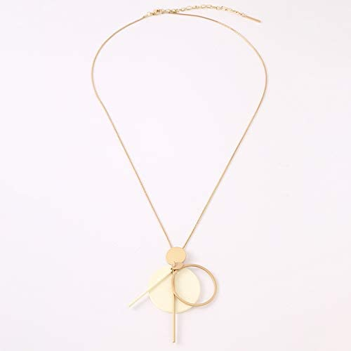 Glitziest Women's Cute and Elegant Alloy Necklace Handmade Delicate Chain Pendant Necklace Jewelry Gifts for Women