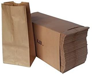 Paper Lunch Bags, Paper Grocery Bags, Durable Kraft Paper Bags, Pack Of 500 Bags (5lb, Brown)
