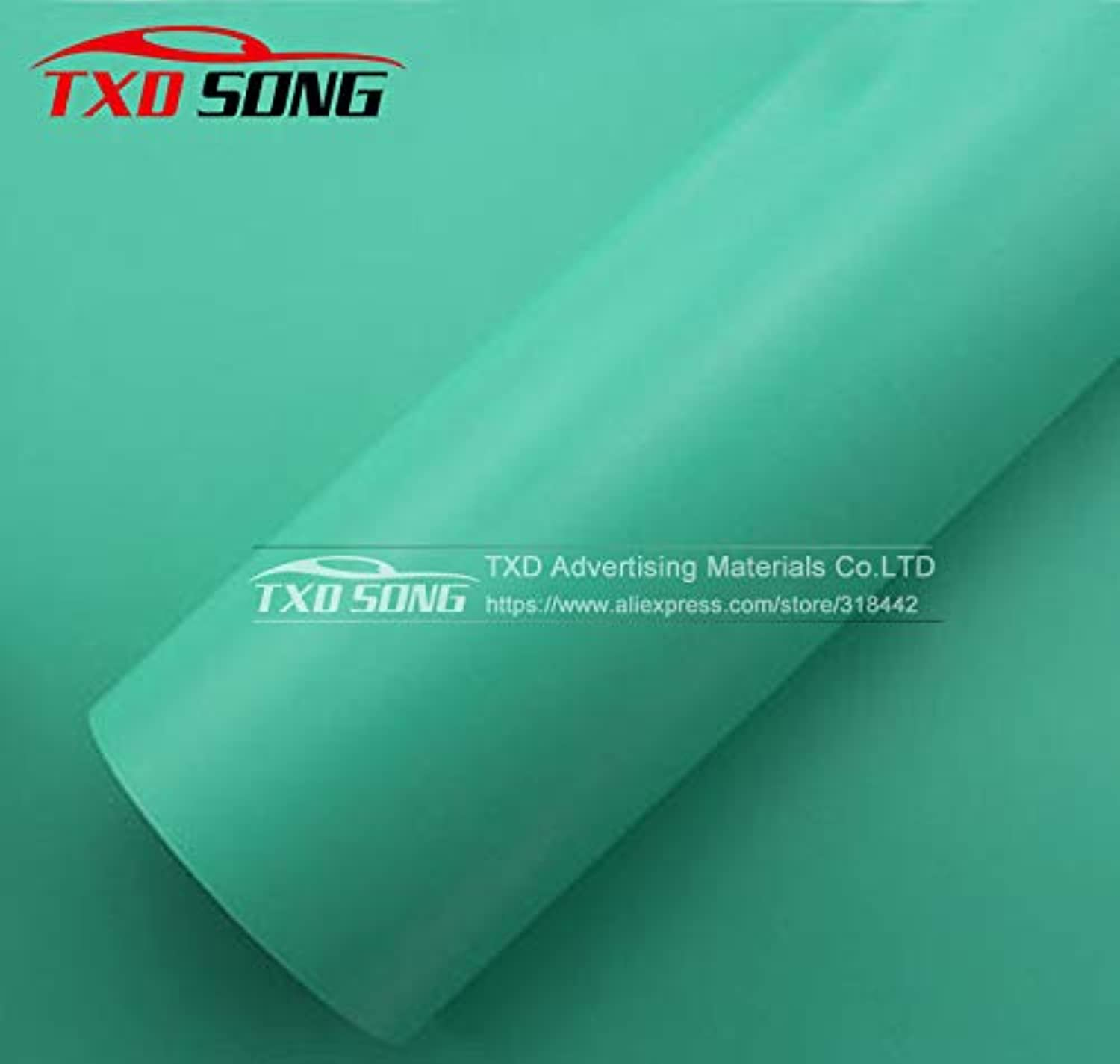 blueee Vinyl Film with air Free Bubbles 1.52  30m Lot with Strong Stretchable