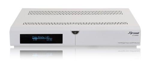 Xtrend ET 10000 Receiver HD (1 x DVB-S2 und 1 x DVB-C Tuner, Linux, Full HD, HbbTV, PVR Ready) weiss
