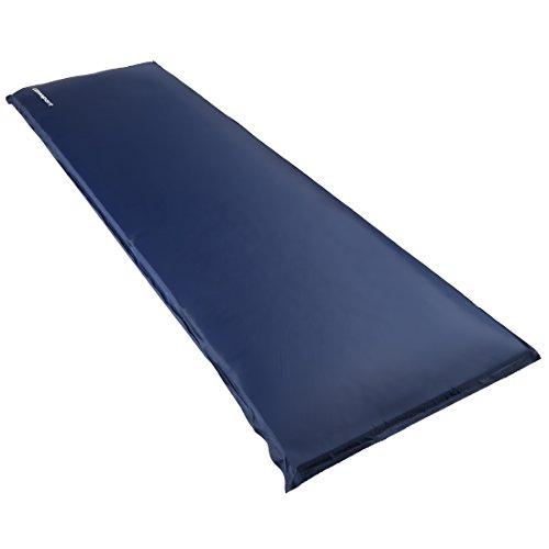 Ultrasport Aislante autoinflable, óptima para el camping, colchoneta para el exterior, ligera y cómoda, impermeable, colchoneta térmica en 3 grosores, plegada, Unisex Adulto, Azul