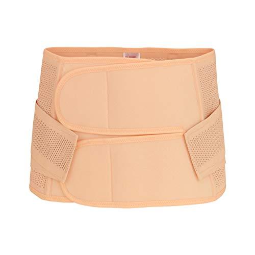 SUPVOX Banda para el vientre de posparto Envoltura de abdomen Abdomen Fajas Carpeta Faja Cinta de soporte Sección C Cirugía para mujeres después del embarazo