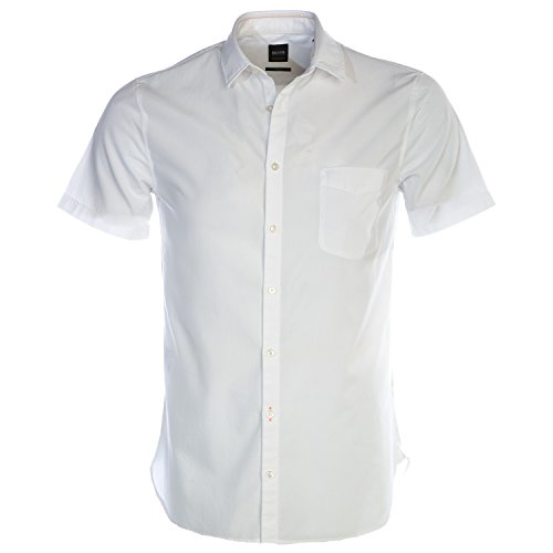 BOSS Hugo Herren Hemd Oberhemd, Größe: XXL, Farbe: Weiß