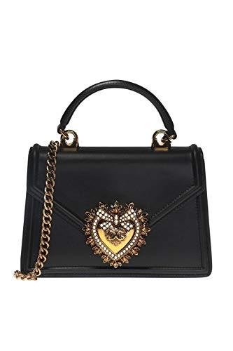 Luxury Fashion   Dolce E Gabbana Donna BB6711AV89380999 Nero Borsa A Mano   Autunno Inverno 19