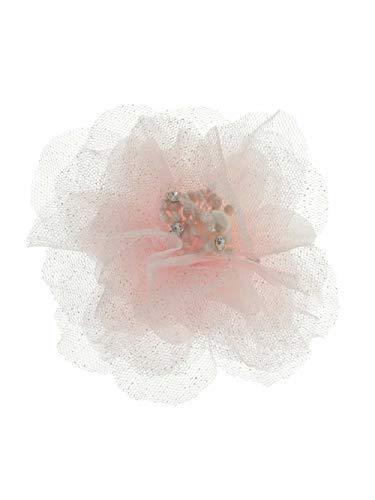 (アーヴェヴェ) a.v.v [KIDS]チュールコサージュ KG2CM03016 120 ピンク