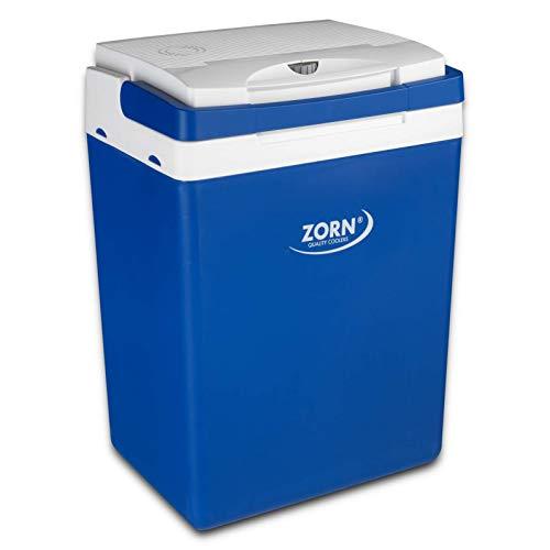 Zorn® Z32 I Elektrische Kühlbox I Kapazität 30 L I 12/230 V für Auto, Boot, LKW, Balkon und Steckdose I Energieklasse A++