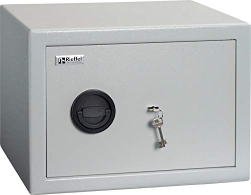Rieffel Möbeltresor MT350 mit 1 Tablar hellgrau