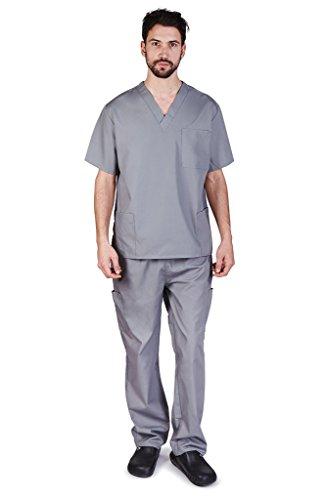 Natural Uniforms Men's Scrub Set