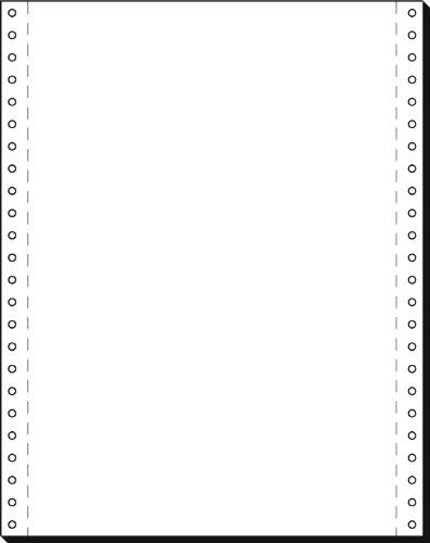 SIGEL 12249 Endlospapier 12 Zoll x 240 mm (A4 hoch), 60 g, 2000 Blatt LP, 1fach