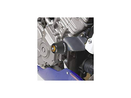 2pcs Diabolos M8*1.5 CNC Aluminum pour Honda Hornet 599 900 600 Hornet 250 CB650F CB600F CB900F(Bleu)