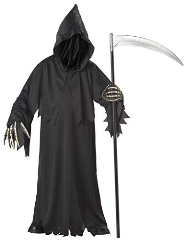 California Costumes Boys Grim Reaper Deluxe Child Costume