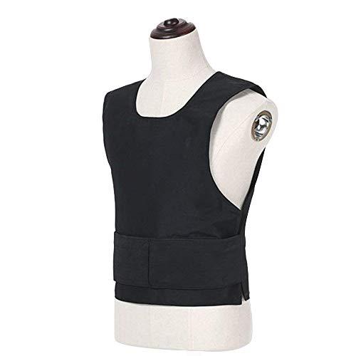 Kevlar Body Armor Plate Taktische Weste Anti-Terror-Jacke Leicht Kann Versteckt Werden Brustschutz (Sicherheitswesten(C))