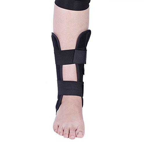 Soporte de Tobillo Ajustable Respirable Soporte de Tobillo Ortopédico Ortosis Estabilizador Protección Ideal para la recuperación de esguince y Artritis(S)