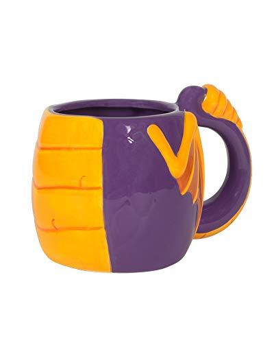 Numskull the Dragon 3D Mug, NS1070, lila