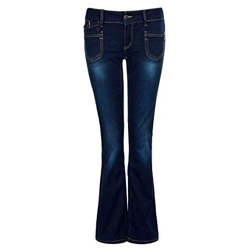 ONLY Jeans Bootcut Ebba Soft Dark Blue Größe: 26 Länge: 32 Farbe: Navy