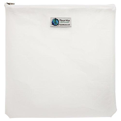 Planet Wise Reusable Clear Bag, Zipper, Gallon