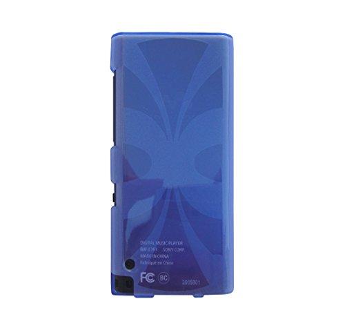 Sony Walkman NW-E393 / NW-E394 / NW-E395 MP3 Player TPU Cover - iShoppingdeals Slim Fit, Anti-Slip Protective TPU Rubber Gel Cover for Sony Walkman NW-E393 / NW-E394 / NW-E395 MP3 Player - Light Blue