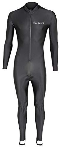 NeoSport Wetsuits Full Body Sport Skins–Tauchen, Schnorcheln und Schwimmen, Unisex, 405272, schwarz