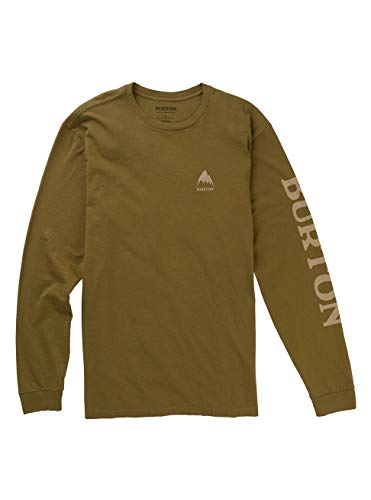 Burton Elite Long Sleeve T-Shirt á Manches Longues Martini Olive FR: XXS (Taille Fabricant: XXS)