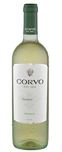 6x 0,75l - 2018er - Corvo - Bianco - Terre Siciliane I.G.P. - Sizilien - Italien - Weißwein trocken
