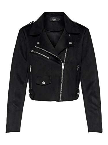 ONLY Damen Jacke Biker 42Black