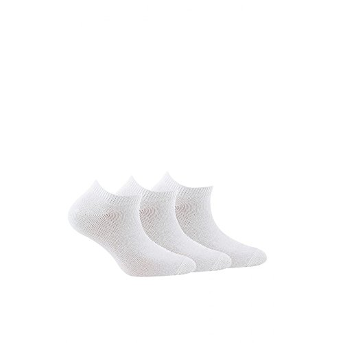 Socke unsichtbare - 3 pack - ohne Frotte - Fine - Coton - Blanc - Essentiel - 37/41
