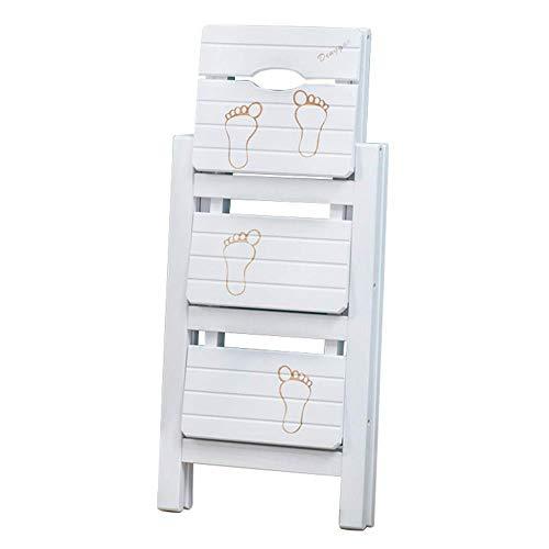 XITER Houten Vouwen Ladder Kruk Mode Decoratie Stepladder Trap Stoel Multifunctionele Stap Kruk