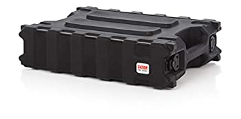 Gator Cases Pro Series Rotationally Molded 2U Rack Case with Shallow 13  Depth  Made in USA  G-PRO-2U-13