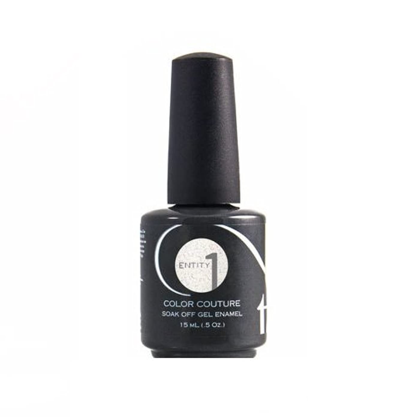 迫害技術者ガレージEntity One Color Couture Gel Polish - Graphic & Girlish White - 0.5oz / 15ml