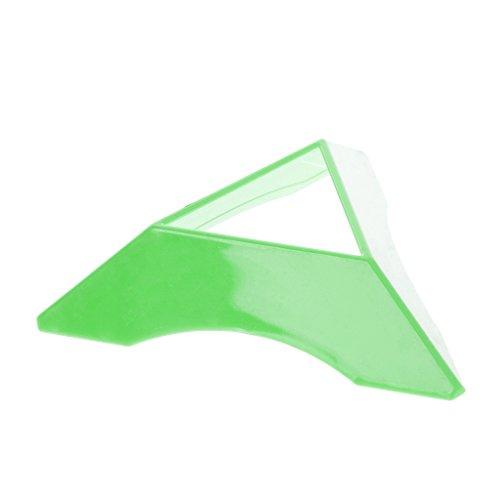 zrshygs Colorido plástico ABS Cubo de Rubik Accesorios Base Cubo Soporte Juguetes para niños Regalo Triángulo Estante de exhibición Soporte Inferior Verde 1Pc