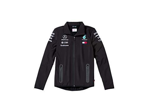 MB Mercedes-Benz Team-Softshelljacke der Formel 1-Saison 2018, Herren (XX-Large)