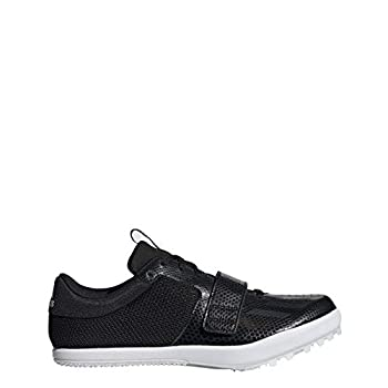 adidas Jumpstar Spike Shoe - Mens Track & Field 12.5 Core Black/White
