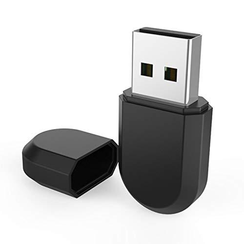 sunronal USB WiFi Adaptador Bluetooth4.2 600 Mbps Dual Band 2.4G Wireless WiFi Dongle, Compatible para Windows7 / 8/10, Adecuado para PC Portátil Receptor De Red Externo